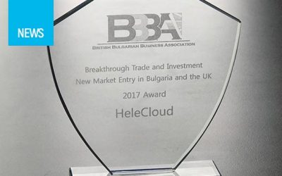 HeleCloud awarded for breakthrough trade and investment