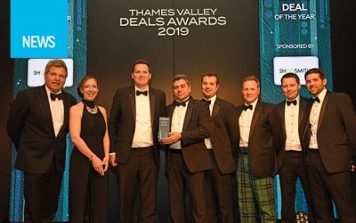 "BGF and HeleCloud scoops ""Small Deal of the Year"" award from Thames Valley Deals 2019"