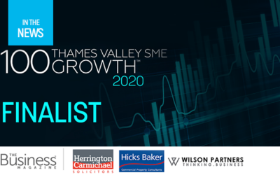HeleCloud shortlisted for the Thames Valley SME 100 Growth Index Awards