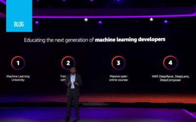 Machine Learning re:Invent Keynote:Announcements and Takeaways